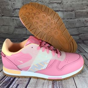 Reebok Classic Leather Altered Alter The Icon Pink
